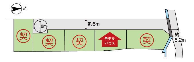 大和高田市勝目区画図