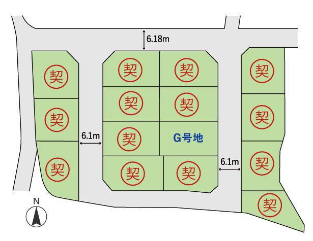 王寺本町 区画図