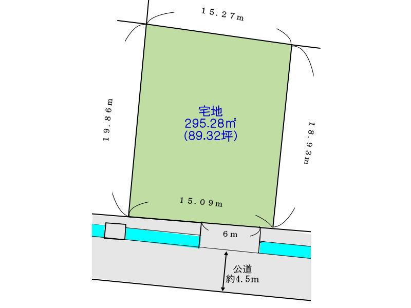 奈良県北葛城郡広陵町の分譲地