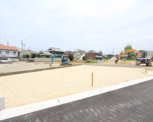 奈良県大和高田市の分譲地
